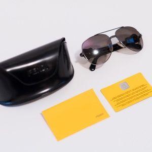 Fendi FS411 Aviator Sunglasses